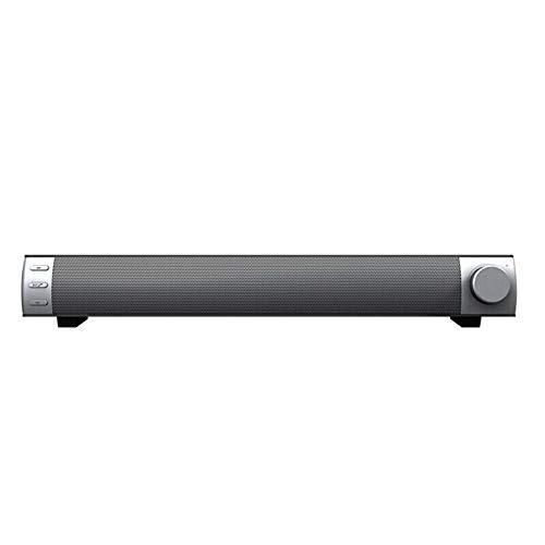 L-yxing Sonido 10W Wireless Good Barra con subwoofer Bluetooth Altavoz portátil TV PC PC de la estereofonía 3D Música Envolvente Soporte de Altavoz TF Aux Buena Apariencia