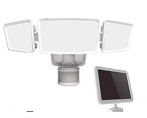 ソーラー人感センサーライト 1800ルーメン 可動式 FSI180-855 FSI180 センサーライト 防犯対策 ライト 屋外ライト 人感センサー センサー