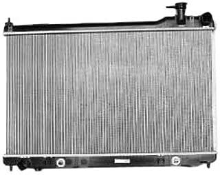 TYC 2455 Infiniti G35 1-Row Plastic Aluminum Replacement Radiator