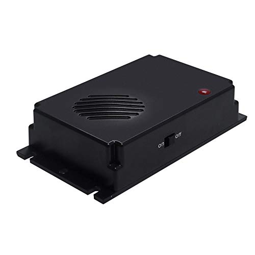 ZXX Repelente de Rata/ratón ultrasónico, convertidor de frecuencia de 4K-50KHz a batería para disolver la Plaga de comadrejas de Marta de Martillo de roedor para casa/automóvil/Garaje