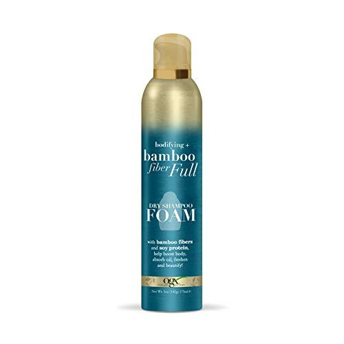 OGX Bodifying Bamboo Fiber Full Dry Shampoo Foam, 5 Ounce