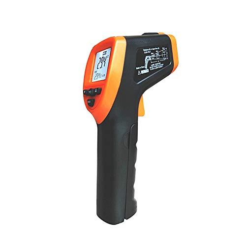 huahuajia Infrarot Thermometer BerüHrungslos KüChe Backthermometer LCD Digitale Laser-Temperaturpistole FüR Kochen,Barbecue,Gefrierschrank,Industrie