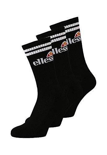 Ellesse Pullo Socks Calcetines, Hombre, Black, Talla Única