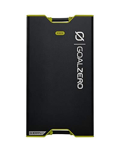 Goal Zero 22030, Power Bank Sherpa 40 Unisex-Adult, Nero, Standard