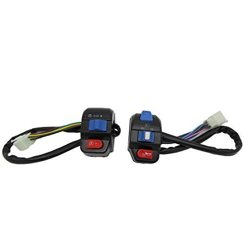 Hui Ni compatibel met de montage van de elektrische stuurschakelaar van Zuma, accessoires, klein en mooi, compatibel met de aansteker Zuma Turtle King blue