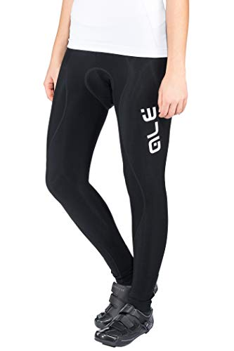 Alé Cycling Solid Winter Tights Dames Black 2019 Fietsbroek