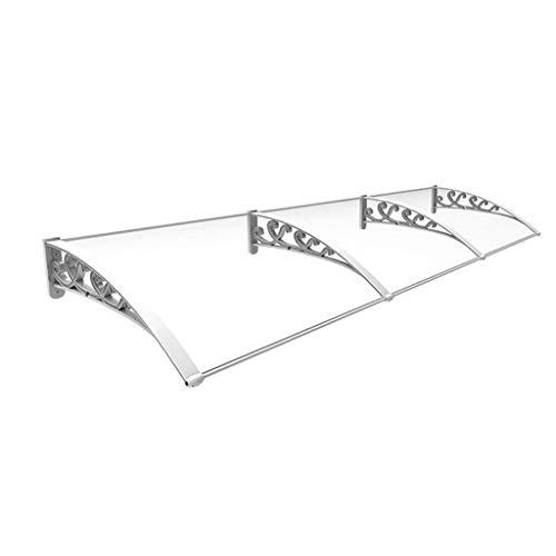 Luifel Door Canopy, luiken, Balkon Buitenkant deur decoratie, UV-bescherming, duurzame aluminium frame, regen en sneeuw Protection Sunscreen stil tent