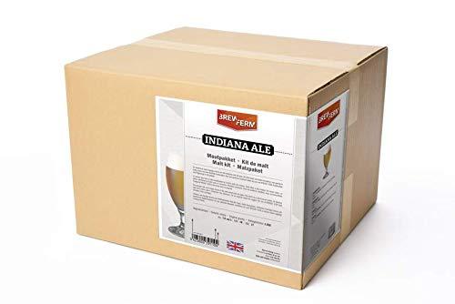 Fertige Malzmischung zum Brauen von 20 Liter Indiana Ale - Malzpaket zum Bier brauen - ungeschrotet