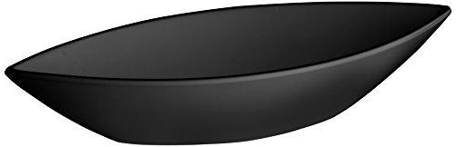LACOR de Plat Ovale Mélamine Classique 32 x 12 x 6 cm Noir