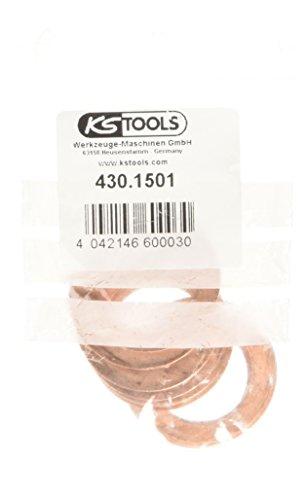 KS tools cuivre-sEAL, eXTÉRIEUR-ø 33 mm, diamètre intérieur 22 mm-lot de 10–430.1501