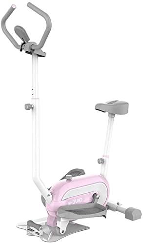 RRB Step Machines Steppers Reposabrazos en Forma de U Mini Ejercicio Stepper RRB Fitness Escaleras Steppers con Bandas de Resistencia Pantalla LCD y cómodos Pedales Twist Stepper