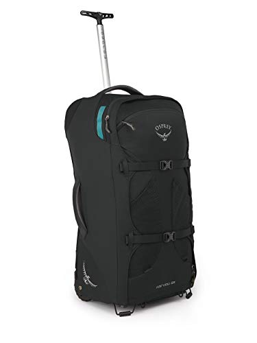 Osprey Packs Fairview 65 Women's Wheeled Luggage, Black
