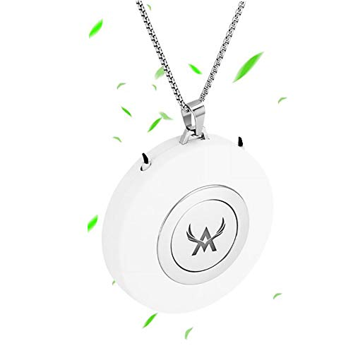 Portable Air Purifier Small Wearable Air Purifier Necklace USB Air Cleaner Travel-Size Smoke...
