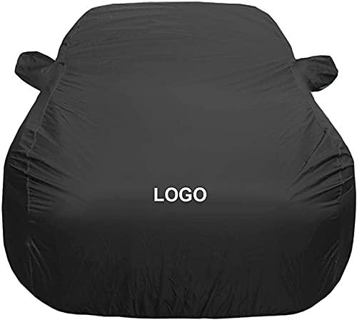 DIANKLO Fundas para Coche para Audi S7 Sportback, Impermeable Todo Clima Cubierta Coche Cobertura Capó del Coche de Lona Coches Cubierta, Anti-UV