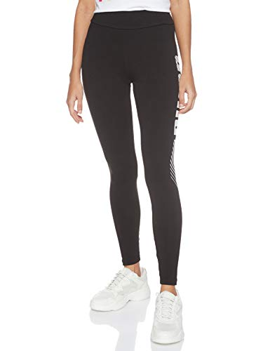 Puma Essentials+ Graphic W, Leggins Donna, Nero Black, Xs