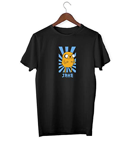 Adventure Time Jake Dog Character Fan_KK018696 Shirt T-Shirt Tshirt para Hombres For Men - White