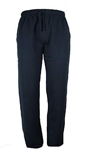 BE BOARD Pantalone Tuta Uomo Taglie Forti Cotone Leggero Art 910 CONF 3XL Blu