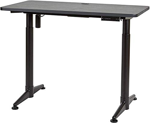 "ApexDesk Vortex Series M Edition 48"" Electric Height Adjustable Standing Desk (Memory Controller, Textured Black Top)"