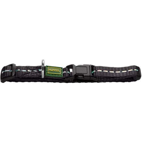 HUNTER Collar Tripoli Vario Basic, XXS 67114 Nylon Negro, Reflejo