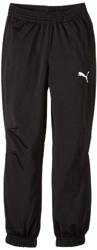 PUMA Kinder Hose Tricot Pants, Black-White, 152, 653974 03