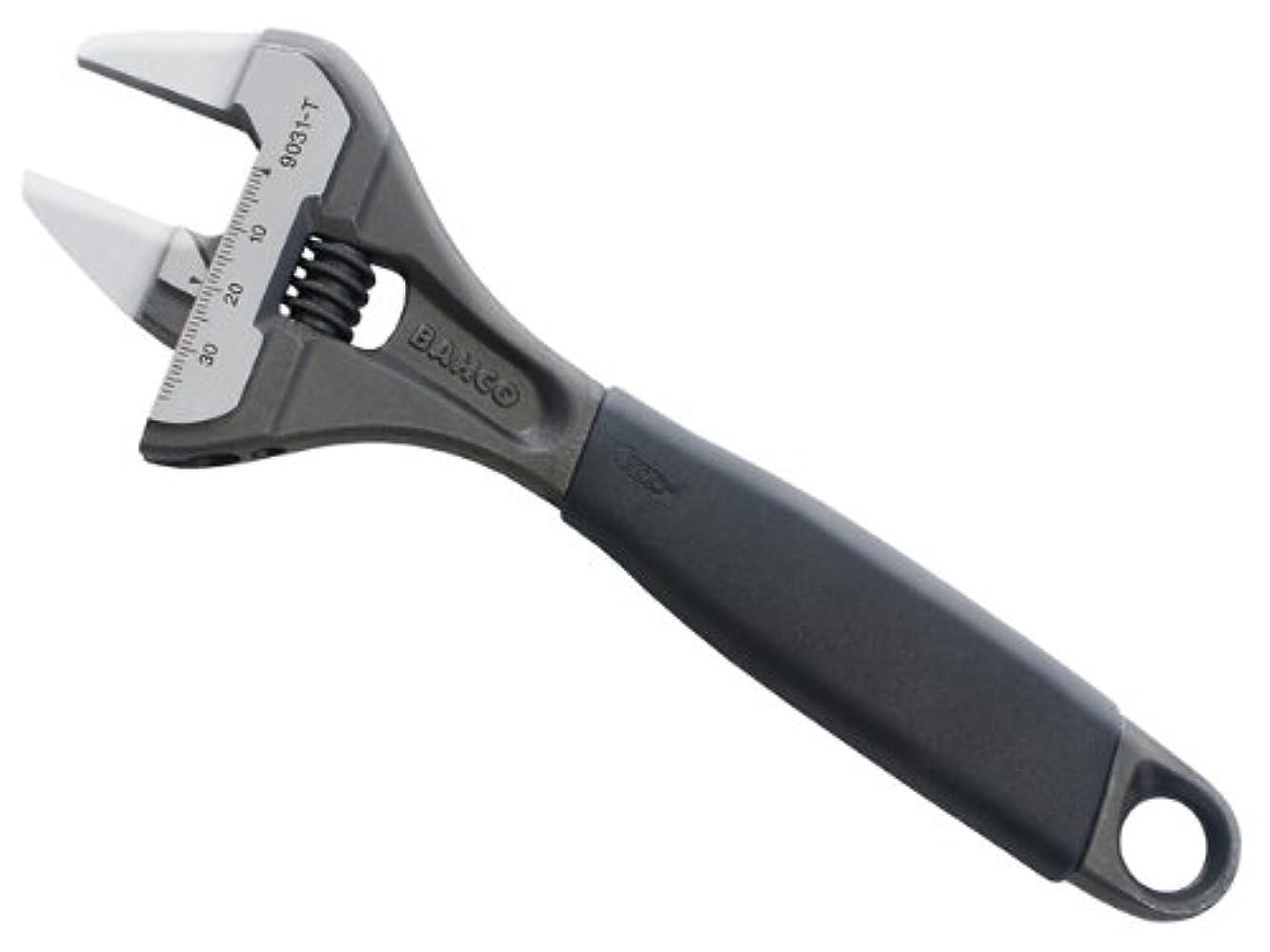 否認するスムーズに堤防BAHCO(バーコ) Adjustable Wrench Thin type 薄口大口モンキーレンチ 9029-T