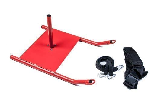 Sports Agility Strength Training Fitness Speed Sled With Padded Shoulder...