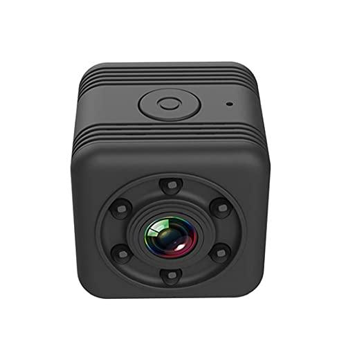 Tuimiyisou Mini cámara Inteligente SQ29 WiFi de la cámara HD de detección de Movimiento de Mano Noche visión cámara inalámbrica, Negro Adecuado para Interiores y Exteriores