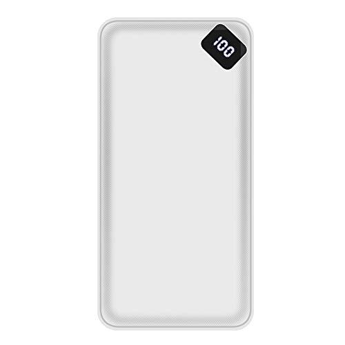 Powerbank, 20000Mah draagbare oplader Powerbank externe batterijlader, voor Samsung Iphone Xiaomi Mi Redmi gratis kabel
