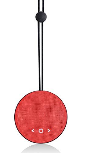 Altec Lansing Drop Max 2 Watt Wireless Bluetooth Speaker (Red)
