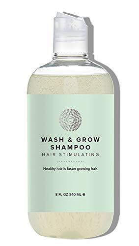 Hairprint - Natural Wash + Grow Hair Stimulating Shampoo | Clean, Non-Toxic Haircare (8 fl oz | 240 ml)