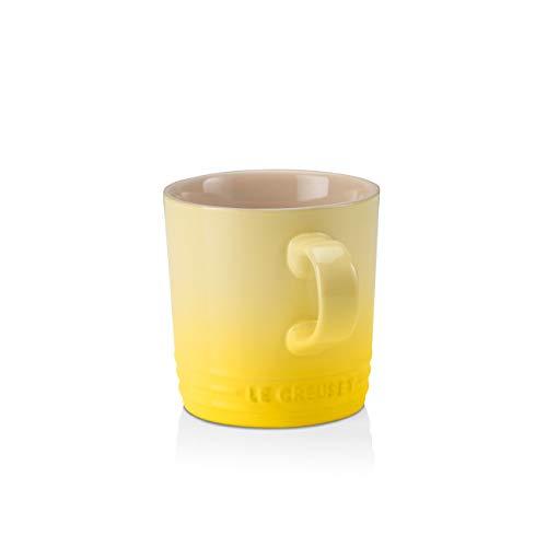 Le Creuset beker met handvat, 200 ml, aardewerk, 10 cm hoog, citrus