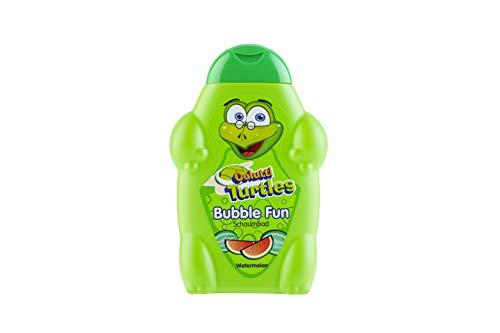 Colutti Turtles Bubble Fun 500ml - Badeschaum/Schaumbad - für viel Badespaß - Wassermelone - pH hautneutrale Pflege für Kinderhaut - Super Dufterlebnis für Kinder