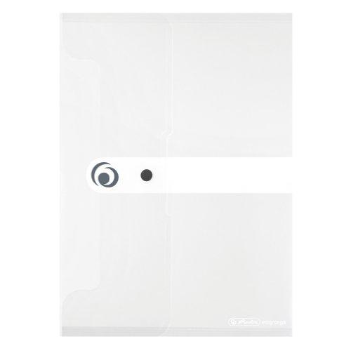 Herlitz 11206653 Dokumententasche 6er Pack PP A4 transparent