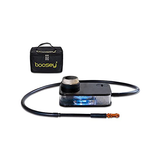BOOSEY Modern Portable Hookah Set with Carrying Bag   Silicone Hookah...