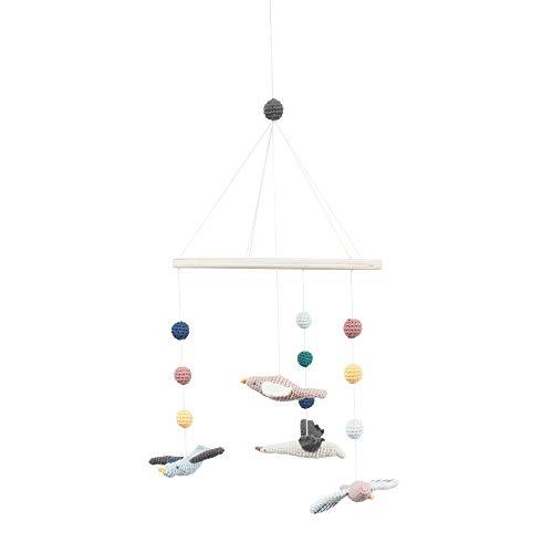 Sebra - Mobile - Windspiel - Häkel-Mobile - Singing Birds - Vögel - Baumwolle