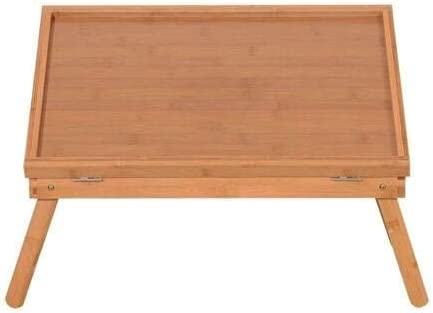 ZLYY Adjustable Our shop OFFers the best service Wood Bed Tray Lap Dinner Award Serving Desk Table Food