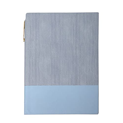 WPBOY Cuaderno Retro Diario Simple Diario Espesamiento De La Personalidad Estudio De La Libreta Bloc De Notas (100 Hojas) (Color : Blue, tamaño : B5)