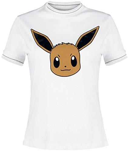 Pokemon Evoli T-Shirt weiß S