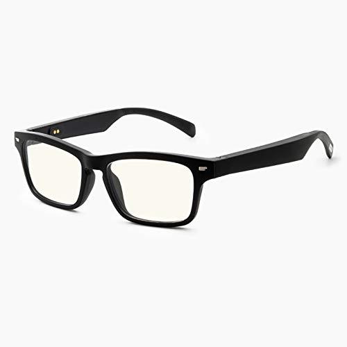 Gafas De Sol Inalámbricas Bluetooth Gafas De Conducción Ósea Auriculares De Oreja Abierta Manos Libres (Anti Blue Ray) Tecnología De Lentes Saludables De Transición