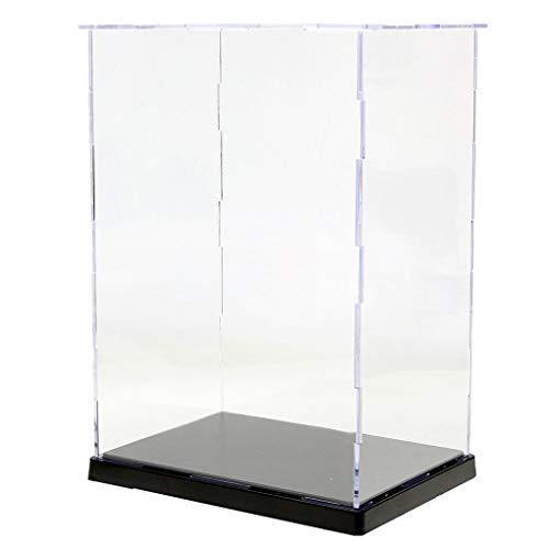 Yongse 19x14x26.5cm transparant acryl display vitrine doos plastic stofdichte bescherming lade