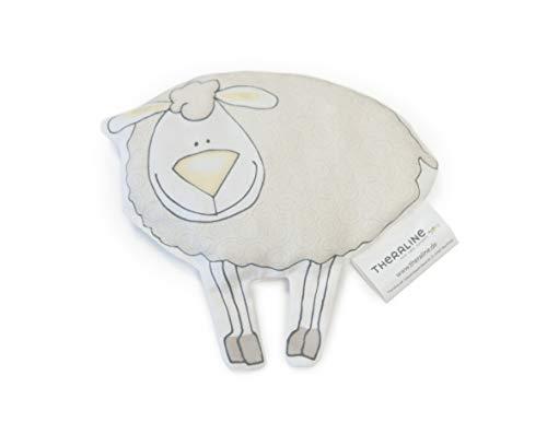 Theraline - Cojín de huesos de cereza, diseño de oveja