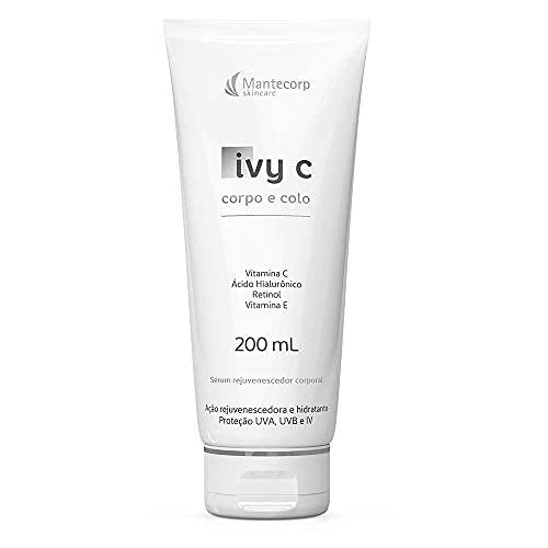 Ivy C Hidratante Rejuvenescedor Corporal Corpo e Colo, Mantecorp Skincare