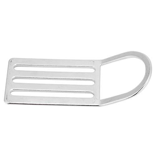 Belika Soporte para cinturón de Peso: Anillo en D de Buceo de Acero Inoxidable, Multifuncional y Duradero, Soporte para cinturón de Peso, Soporte Deslizante para Tope