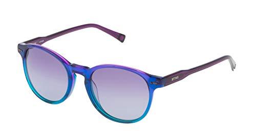 Sting Unisex Ss6583 Sonnenbrille, Mehrfarbig (Gradient Dark Blue/Turquoise), Einheitsgröße