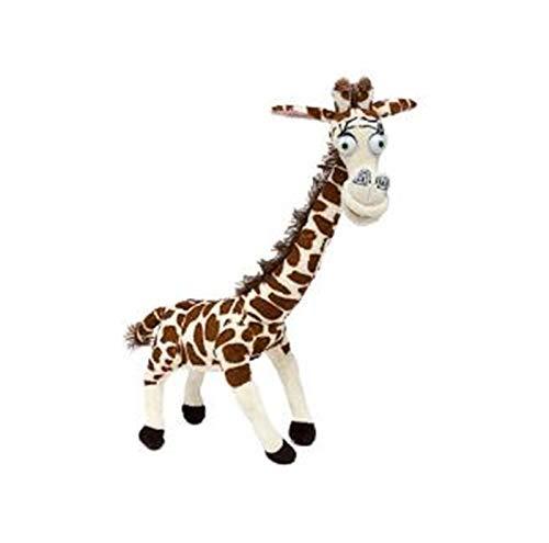 Yinyimei Juguete de Peluche Pingüino de Felpa Animales Juguetes, león Alex Zebra Marty Giraffe Melman Hippopotamus Gloria Pelucia Brinquedo Juguete 20-30 cm (Color : 06)