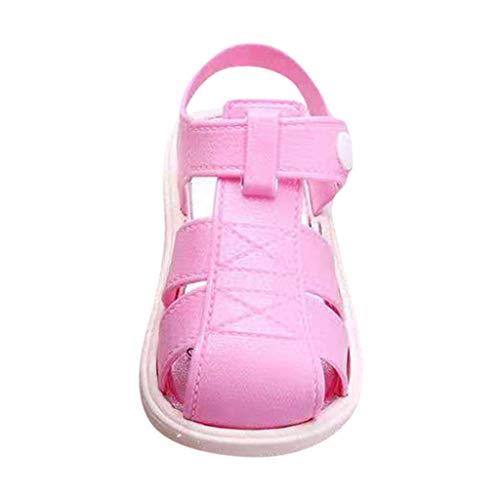 YWLINK Sandalias Deportivas De Verano para NiñOs Zapatillas De Playa Baotou Fondo Suave Antideslizante Ligero Zapatos Casuales Zapatos De Agujero Zapatos De Primer Paso Regalo De CumpleañOs