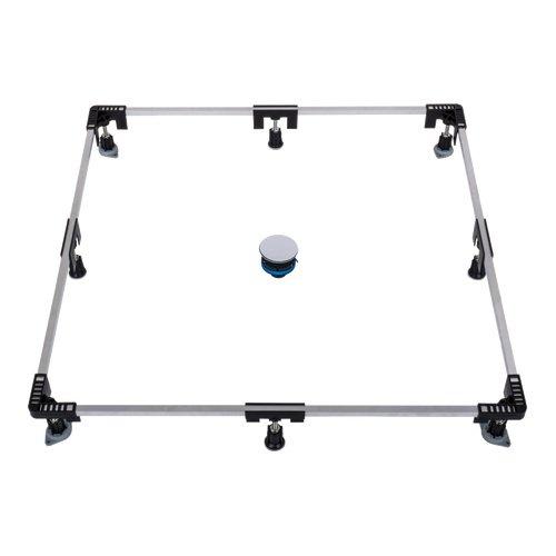 PORESTA Ferroplast Montagerahmenset 1200, bis 120 x 120 cm 86001003