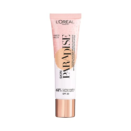 L'Oréal Paris Skin Paradise getöntes Feuchtigkeitsfluid Light 01, 1 Stück
