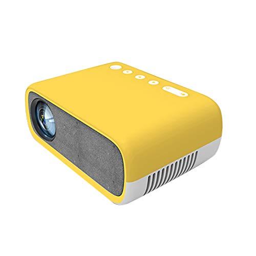 Beamer Projektor Elektrisch YG280 Mini Mini Projektor Home LED Tragbarer Unterhaltungsprojektor HD 1080 Mini-Projektor, 1080P Full HD LED-Videoprojektor Home Beamer