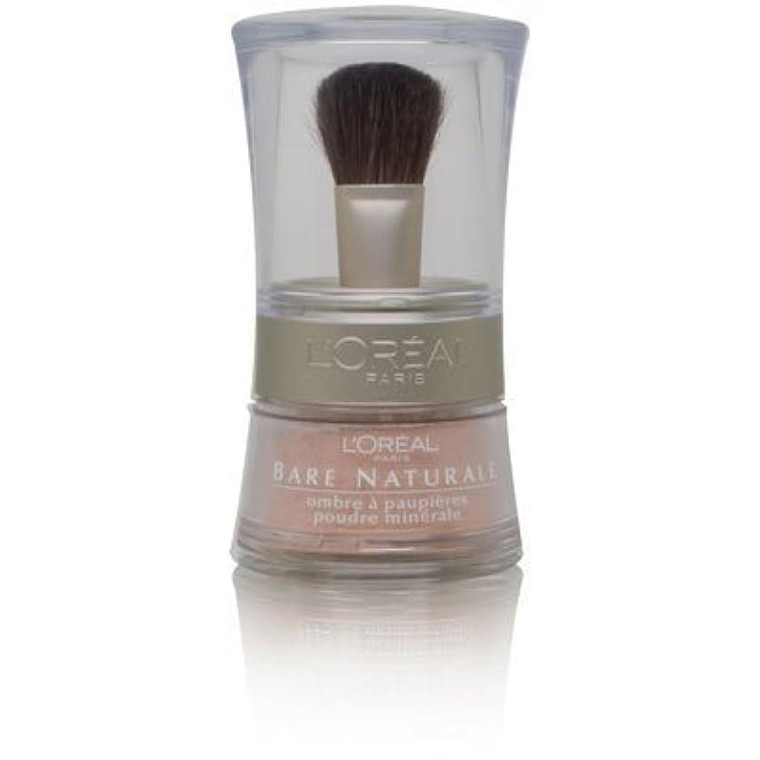 絶望不規則な救急車L'Oreal Bare Naturale Gentle Mineral Eyeshadow Bare Nude 846